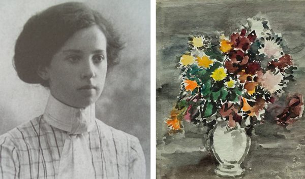 Антонина Софронова, 1910 год